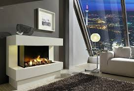 contemporary electric fireplace modern wall insert