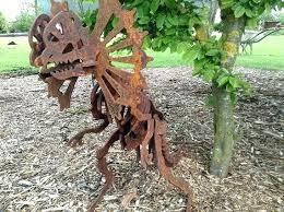 metal garden statues rusted metal garden sculptures dinosaur gifts rusty metal garden sculptures house decorations garden