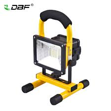 Portable Flood Lights Outdoor Us 22 31 39 Off Dbf Portable Rechargeable Led Flood Light 30w 24led Waterproof Ip65 Camping Lamp Outdoor Spotlight Floodlight With Charger In