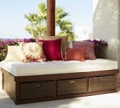 Outdoor furniture cushion storage 1