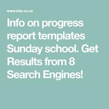Sunday School Report Card Template Info On Progress Report Templates Sunday School Get Results
