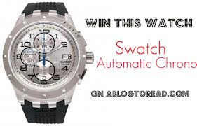 swatch automatic chrono watch giveaway ablogtowatch swatch automatic chrono watch giveaway giveaways