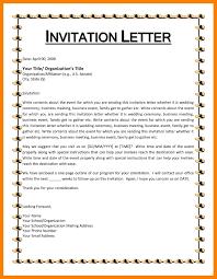 Invitation Format For Cultural Event Valid Letter Format For