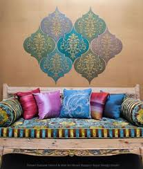 diy tutorial that you can do yourself diy wall art stencil and paint wall on paisley wall art stencil with bombay paisley wall art stencil paisley stencil stenciling and royals