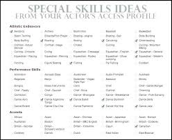 Resume Skill Words Stunning 823 Sample Of Qualifications In Resume Key Skills Examples For Resume