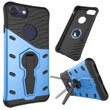 iphone kickstand. sniper hybrid plastic silicone dual protection shockproof case with kickstand for iphone 7 4.7 inch iphone