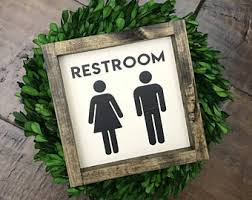 Decorative Bathroom Signs Home Bathroom Signs Etsy 28