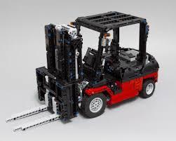 Lego Moc 3681 Lego Technic Custom Forklift Mk Ii Technic 2015