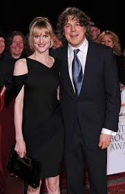 How old is Alan Davies, who does he play in Midnight Gang and who's the QI  star's wife Katie Maskell?