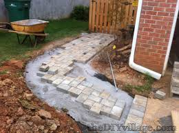 diy pavers. Exellent Diy DIY Paver Path Tutorial To Diy Pavers P