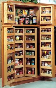 Storage For Kitchens Appealing Wood Storage Cabinets That Can Prevent A Kitchen From