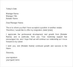 2 Weeks Notice Template Simple 48 Week Notice Letters Two Weeks Notice Letters Resignation Letter