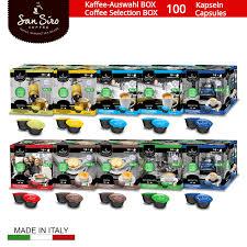 100 Kapseln Sansiro Kaffee Auswahl Box No 3 Cafissimotchibo