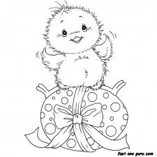 Easter Egg Coloring Pages Printable Coloring Image