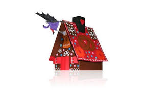 Great Christmas Gingerbread House Free Papercraft Download