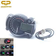 <b>Universal</b> Digital Motorcycle Speedometer Odometer Adjustable ...