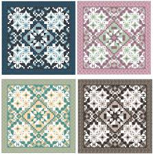 The Designing Of A Downton Abbey Quilt- A Guest Post By Tiffany ... & Amazing what happens to a quilt when you change out the fabrics! Adamdwight.com