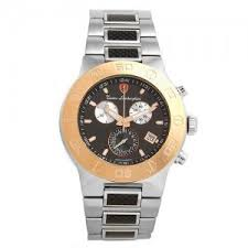 lamborghini gold silver black chronograph men s watch likosh llc lamborghini gold silver black chronograph men s watch