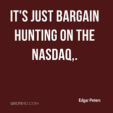 Nasdaq Quote Simple Edgar Peters Quotes QuoteHD