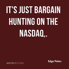 Nasdaq Quote Simple Edgar Peters Quotes QuoteHD