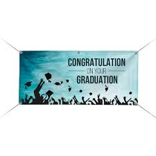 Custom Full Color Graduation Banners For Cheap Bestofsigns