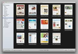 Pages Templates Free Apple Iwork Pages Templates Brad Gossebrad