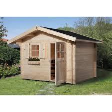 Weka Holz Gartenhaus Brescia C 300 Cm X 300 Cm Mit Vordach Kaufen