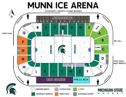 Michigan State Basketball Arena Seating Chart Maps Archive Spartan Fund
