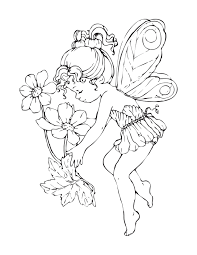 Small Picture Perfect Free Printable Fairy Coloring Pages Co 1017 Unknown
