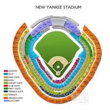 Yankee Stadium Grandstand Seating Chart Yankee Stadium