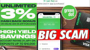 Check spelling or type a new query. Is Green Dot Unlimited Cash Bank Account A Scam 3 Unlimited Cash Back Youtube