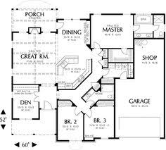 Plan 69022AM Single Story Home Plan  Story House Plan Plan And Open Floor Plans For One Story Homes