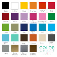 color chart color chart samples dee cal frenzy wall decor