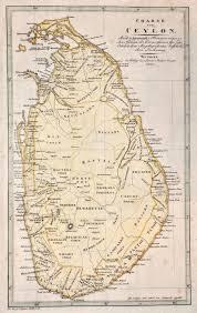 Charte Von Ceylon Nach A Arrowsmiths