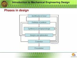 Engineering Design Phases Introduction To Mechanical Engineering Design Ppt Download