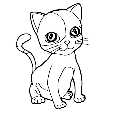 Printable Pictures Of Cats Free Printable Cat Coloring Pages
