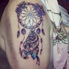 Purple Dream Catcher Tattoo 100 Dream Catcher Tattoo Designs Ideas Design Trends Premium 2
