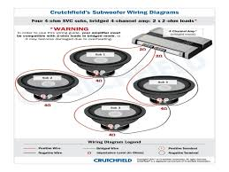 attractive wire diagrams for hooking up a single voice coil Dual 4 Ohm Sub Wiring nice parralle dual voice coil wiring diagram inspiration