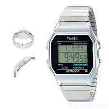 Mens Watches That Light Up Details About Timex Mens Wrist Watches Classic Digital Rectangular Silver Indiglo Night Light