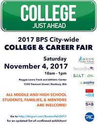 Things To Do After High School Boston Public Schools High School Division College Career Fair