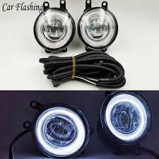 2007 Toyota Camry Daytime Running Lights Car Flashing 2pcs Led Angel Eyes Fog Light Lamp Drl Daytime