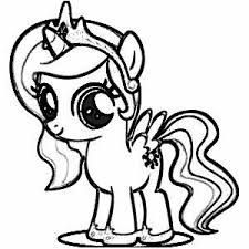 Small Picture 8 best My Little Pony Coloring Pages images on Pinterest