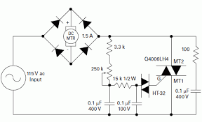 dc permanent magnet motor speed control schematic