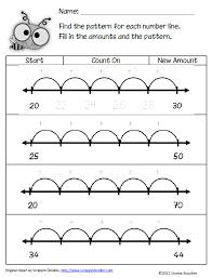 Number Line Worksheet 2Nd Grade Worksheets for all | Download and ...