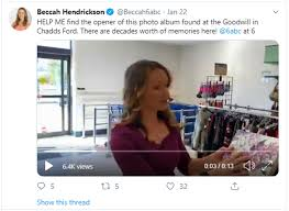 Woman's Thrift Store Find Reunites Photo Album With Owners - Good News |  Sparkt - Sparkt.com