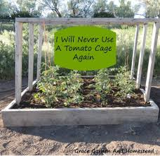 If I grew a smaller amount of tomatoes, this would be the tomato cage of my  dreams!