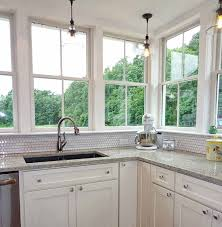 kitchen counter window. Dayton-painted-linen-4509-full-windows-over-counter- Kitchen Counter Window E