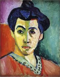 portrait of madame matisse green stripe 1905