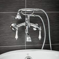 pelham white vintage style 3 handle