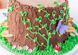 Small Picture Fairy house birthday cake ideas House interior